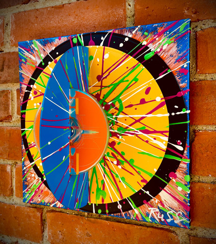 Hi-Fi-Vinyl Sculpture Orbit