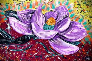 Purple Passion Blooms