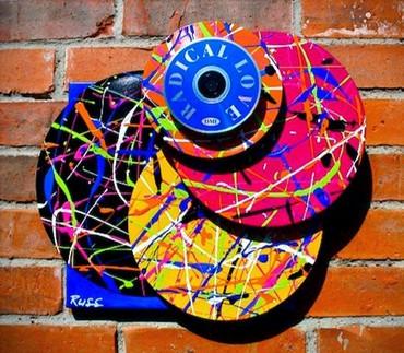 Hi-Fi Vinyl Sculpture Radical Love