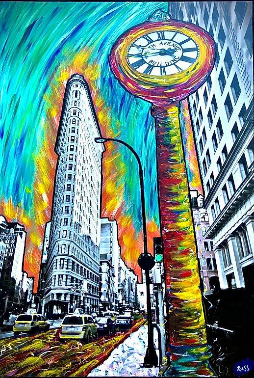 Smashup Studios urban vibrant visul art Flatiron building NYC