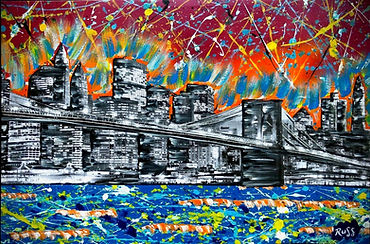 Smashup Studios urban vibrant visul art NYC waterfront