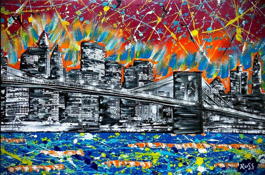 Smashup Studios urban vibrant visul art NY waterfront