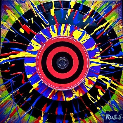 Hi-Fi Vinyl Pyramid Bullseye