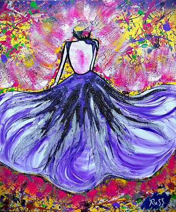 Cinderella Flowing