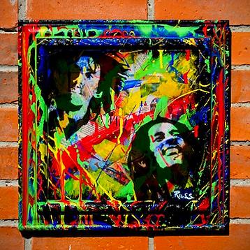 Bob Marley collage_buffalo soldier