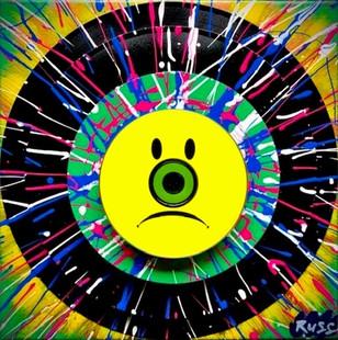 Hi-Fi Vinyl Pyramid Emoji