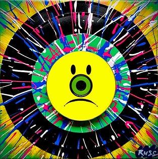 Smashup Studios urban vibrant visul art vinyl records