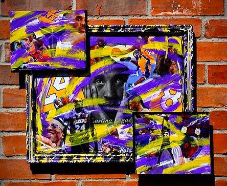 Kobe Bryant collage_black mamba