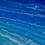 Thumbnail: Tablou pictat pe panza, Mare cosmica, 700 x 700 x 20 mm