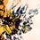 Thumbnail: Tablou pictat pe panza, Explozie de flori, 400 x 700 x 20 mm