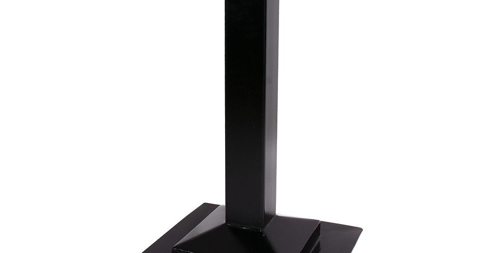 Picior de masa metalic cu baza patrata, 790 x 480 x 480 mm