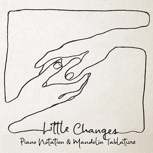 Frank Turner - Little Changes (Piano & Mandolin with Guitar chord boxes)