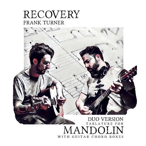 Frank Turner - Recovery (Mandolin with Guitar chord boxes)