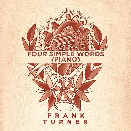 Frank Turner - Four Simple Words (Piano & Organ)