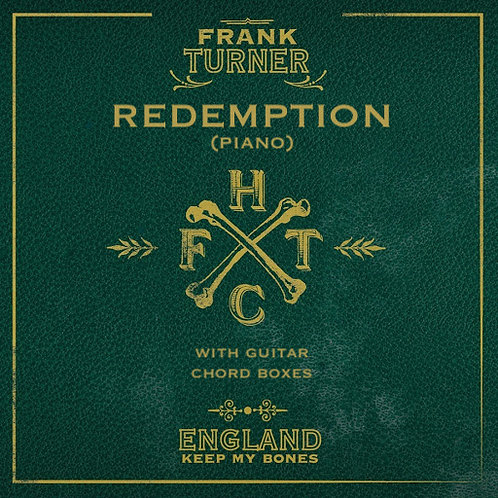 Frank Turner - Redemption (Piano w/guitar chord boxes)