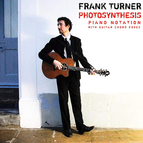 Frank Turner - Photosynthesis (Piano w/guitar chord boxes)