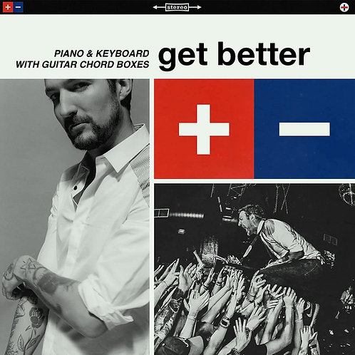 Frank Turner - Get Better (Piano & Keyboard with Guitar chord boxes)