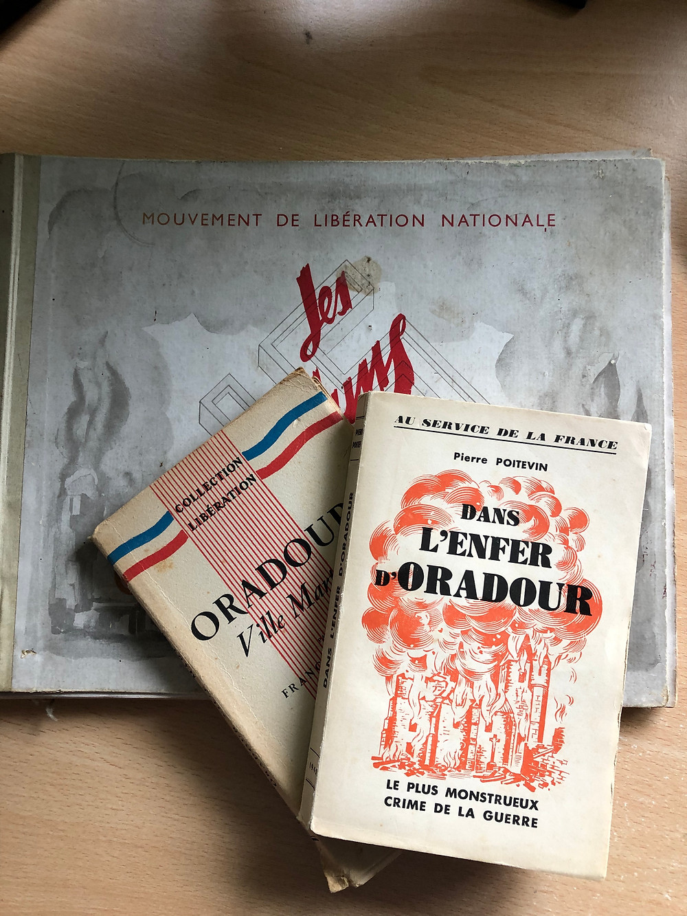 Some of the first books published about the massacre
