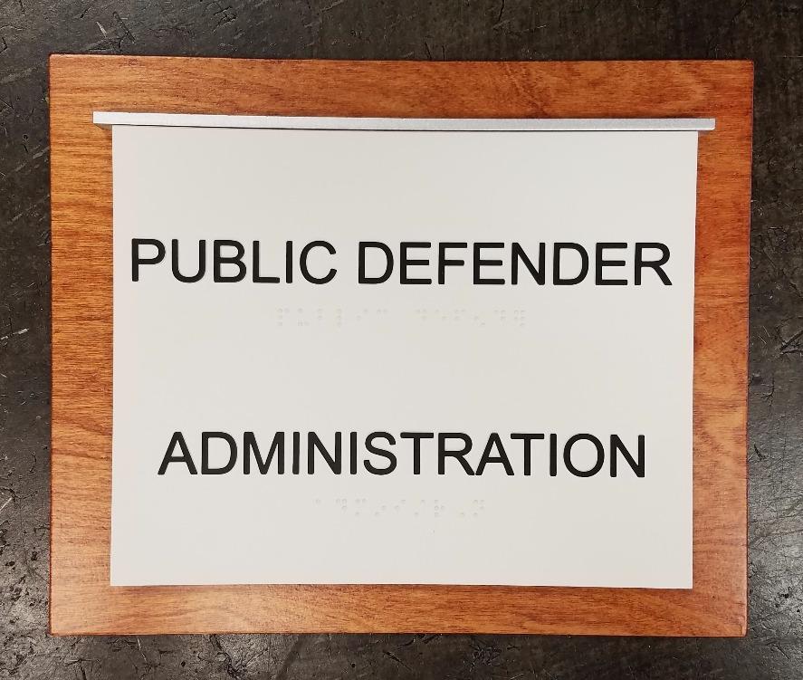 PUBLIC DEFENDER ADA