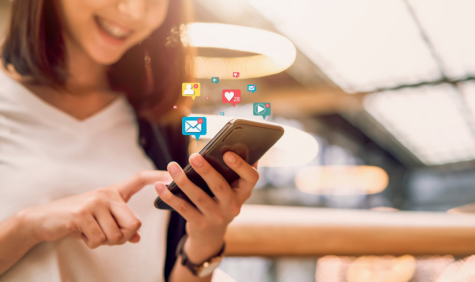 social-media-and-digital-online-smiling-asian-woman-using-smartphone-and-show-technology-i