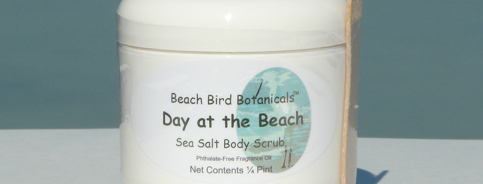 Sea Salt Scrubs, 1/4 Pint