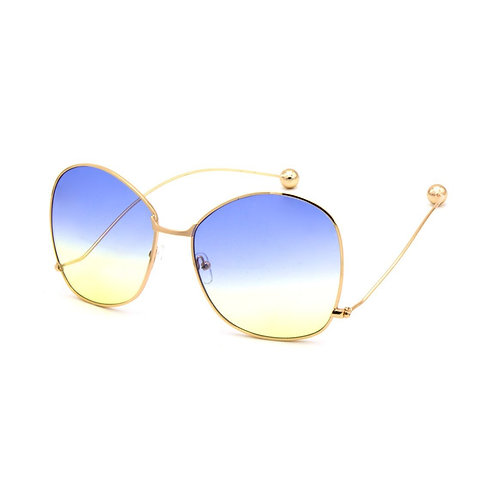 VINTAGE HEXAGON SHAPE SUNGLASSES
