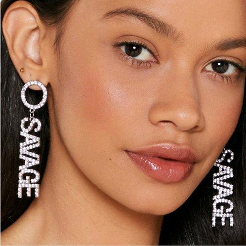 Savage earrings