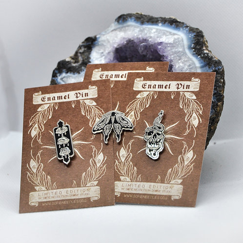 Limited Edition: Hard enamel pins