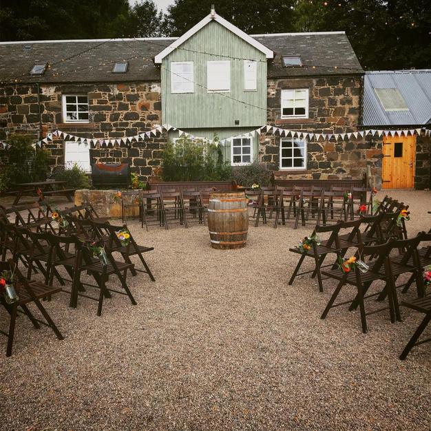 Weddings at Comrie Croft