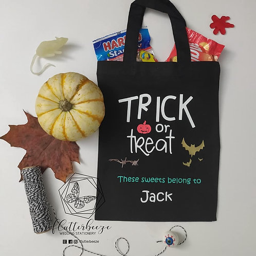 Trick or Treat - Small tote
