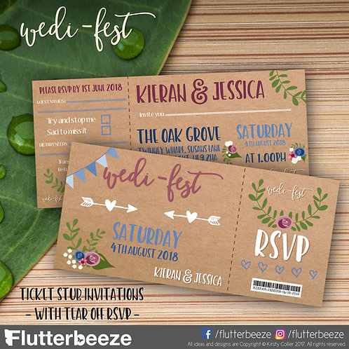 Wedi-Fest  -  Festival ticket