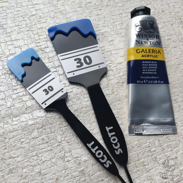 Paintbrush age topper