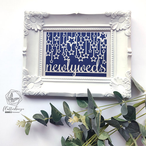 Fancy frame - Papercut