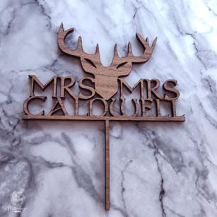 Mrs & Mrs Caldwell