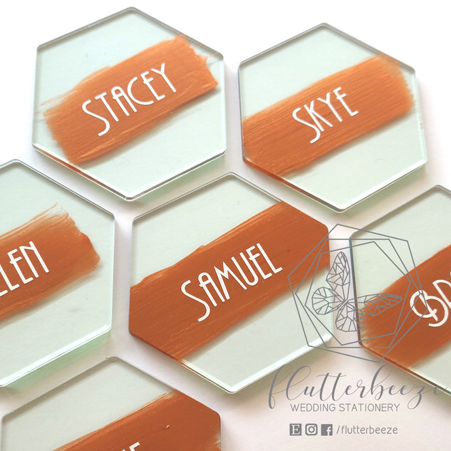Glass effect Coasters