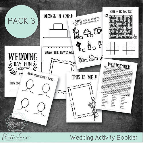 PACK 3 -Busy Book