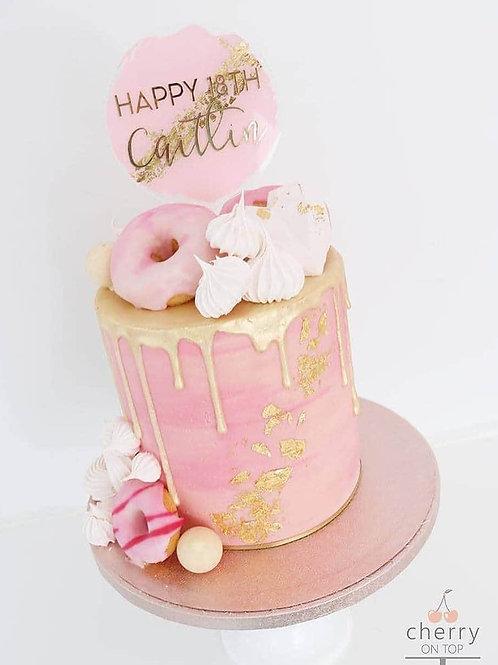 Circle topper - Birthday