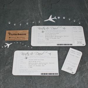 Ticket Stub Invitations