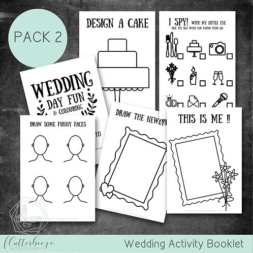 PACK 2 -Busy Book