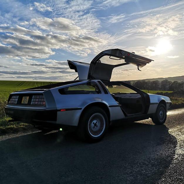 DeLorean Hire Scotland