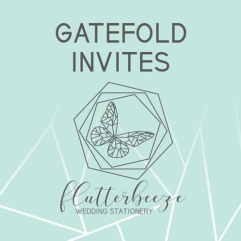 Gatefold Invites