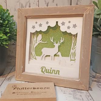 Woodland baby frame