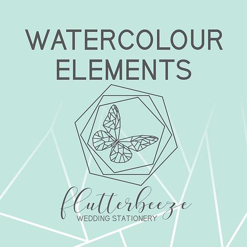 Watercolour -Elements