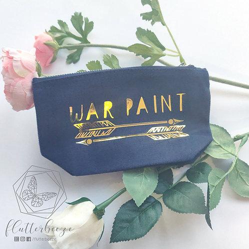 War Paint - make up bag