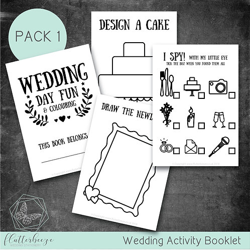 PACK 1 -Busy Book