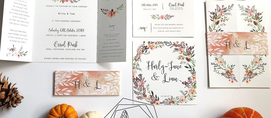 Autumn Wedding   Errol Park