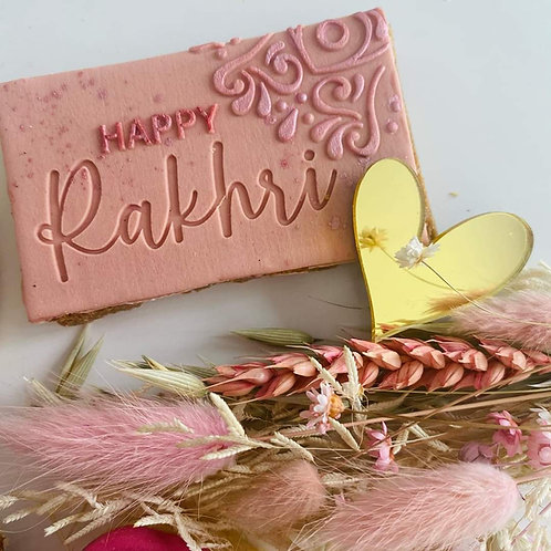 Happy Rakhri - Embosser