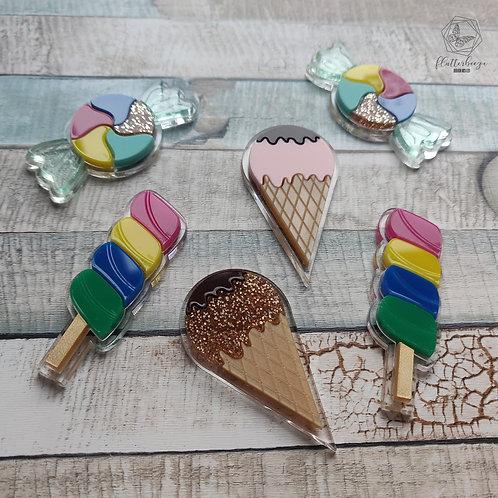 Sweet + Ice-cream Charms