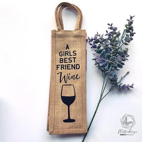Wine - Bottle tote