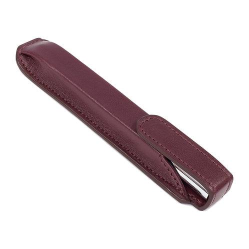 étui à stylo violet
